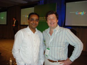 Fred Buhr with web analytics guru Avinash Kaushik