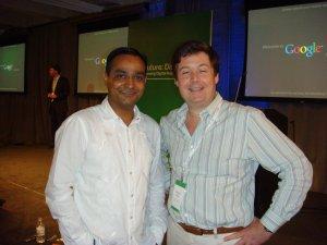 Fred Buhr with web analytics guru Avinash Kaushik